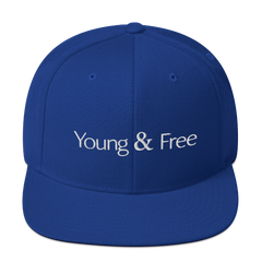 Young & Free Blue Cap