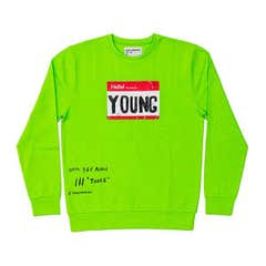 Y&F Young Sweatshirt (Neon Green)