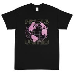 People T-Shirt (Yellow/Pink Graphic)
